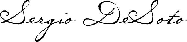 Sergio DeSoto Signature Graphic
