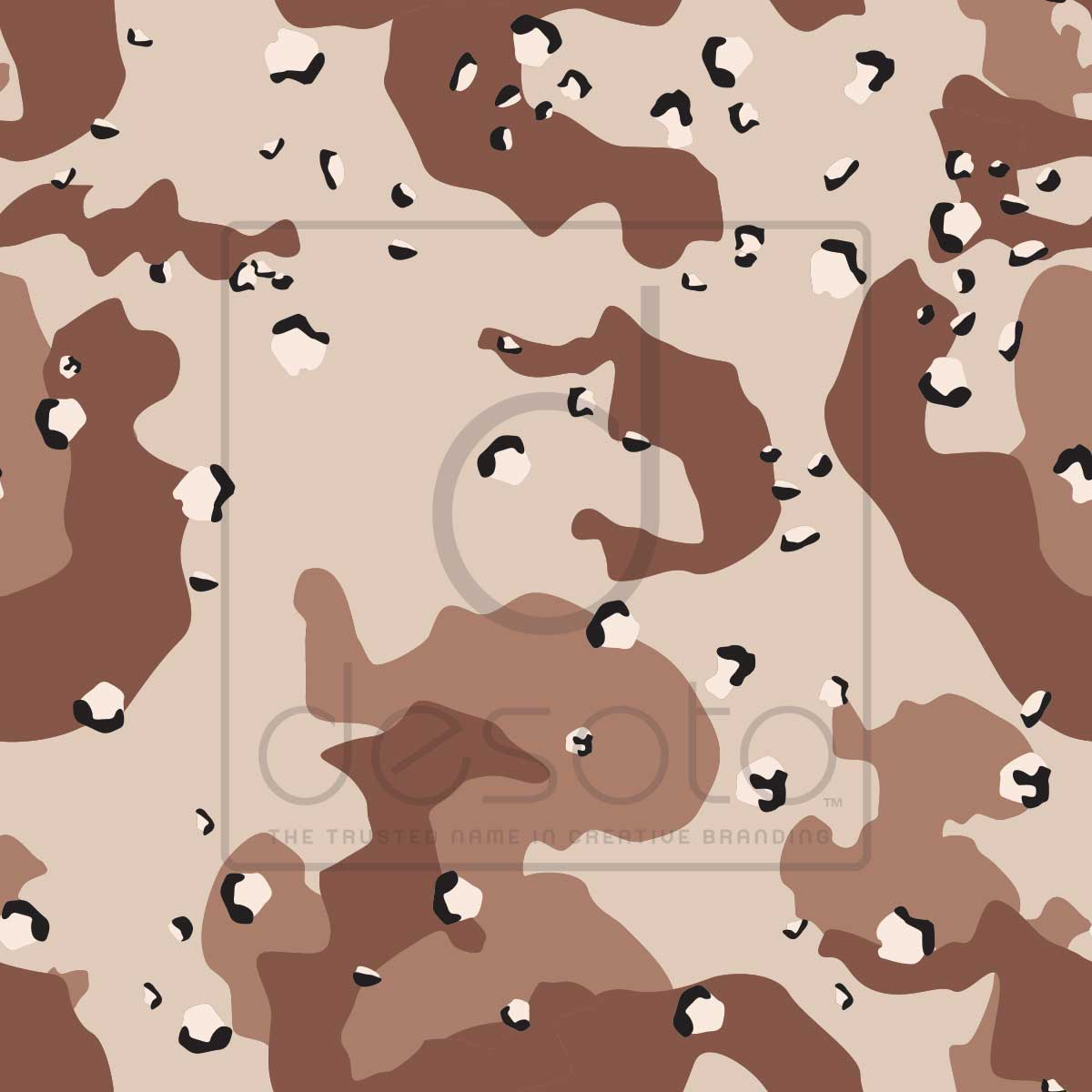The premium camouflage pattern on conformable film with a gloss overlaminate.