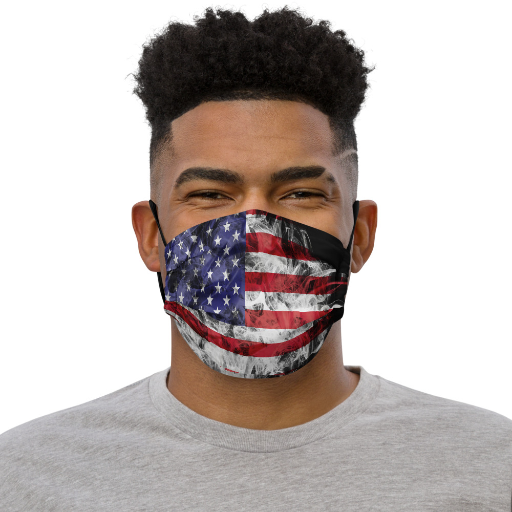 Real Patriot Face Mask