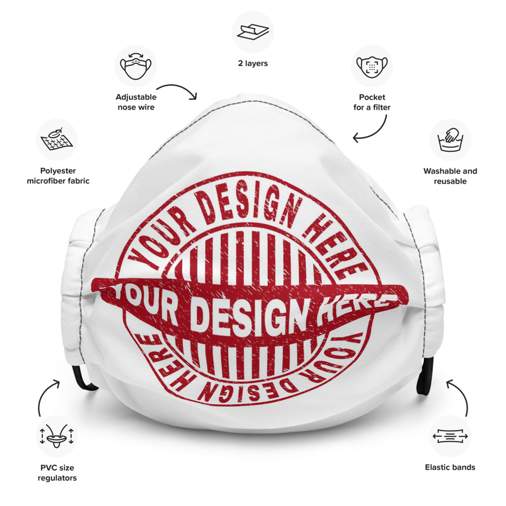Custom Face Mask - Your Design