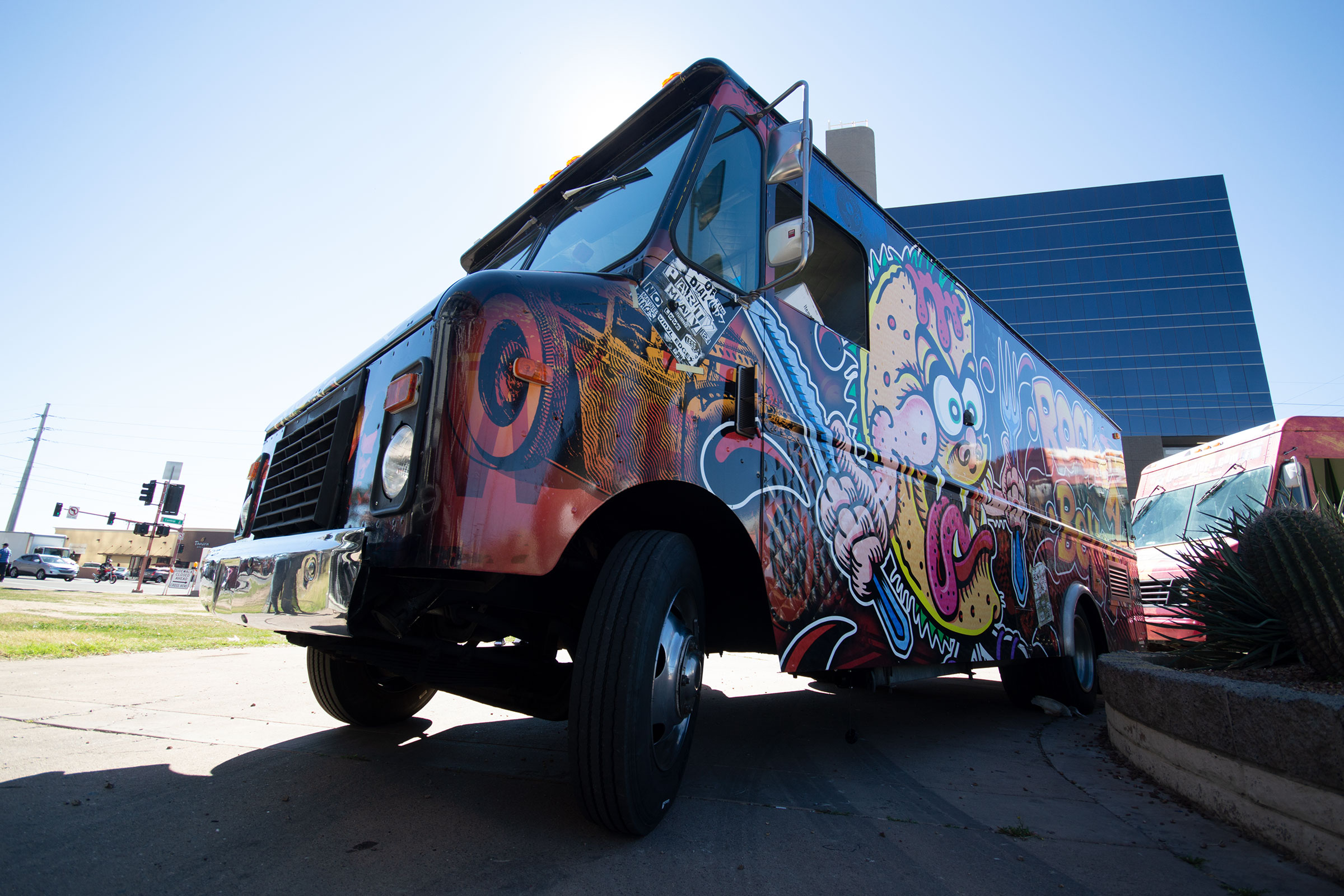 Vehicle wrap project for Rock A Belly