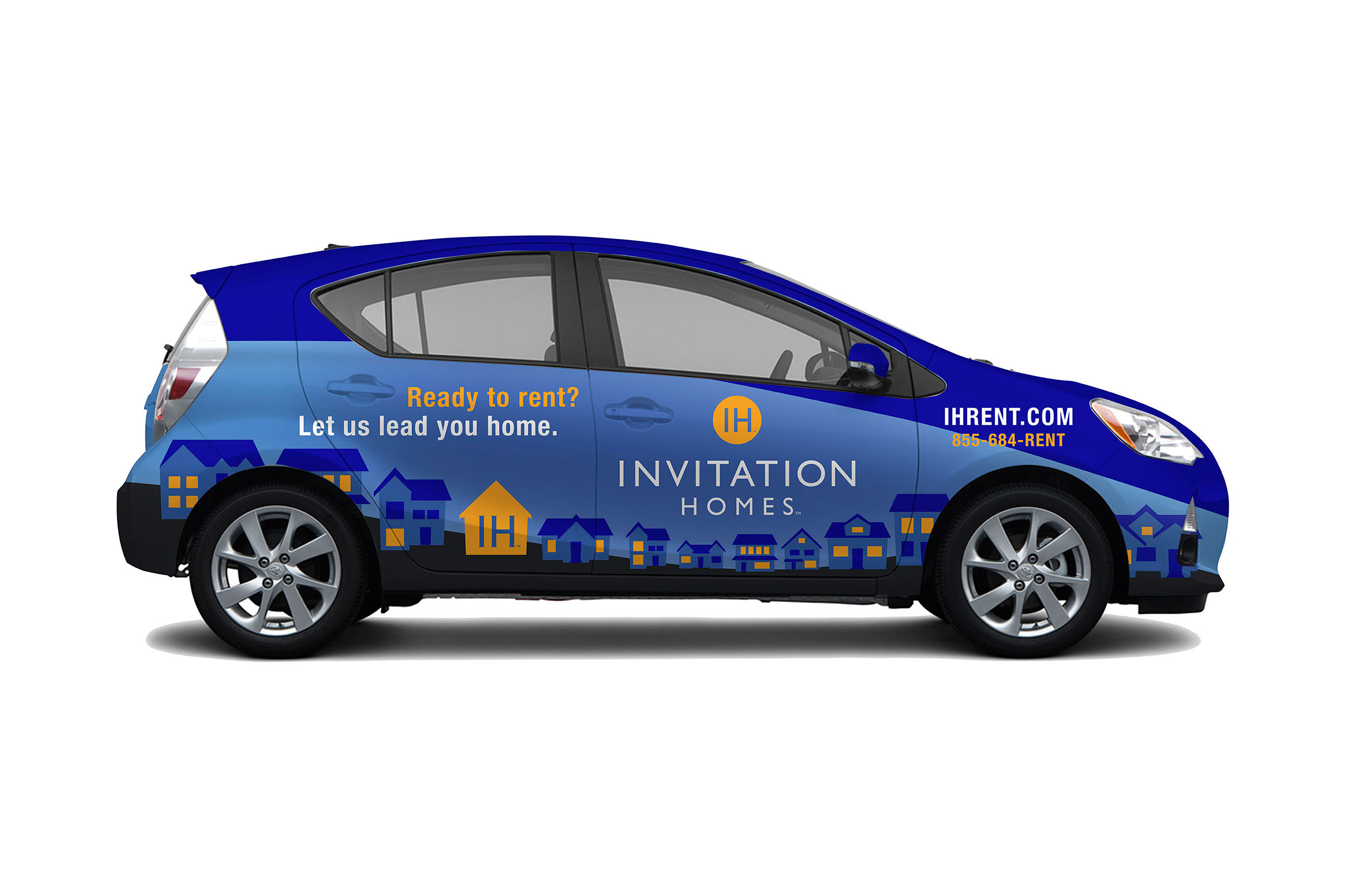 Vehicle wrap project for Invitation Homes