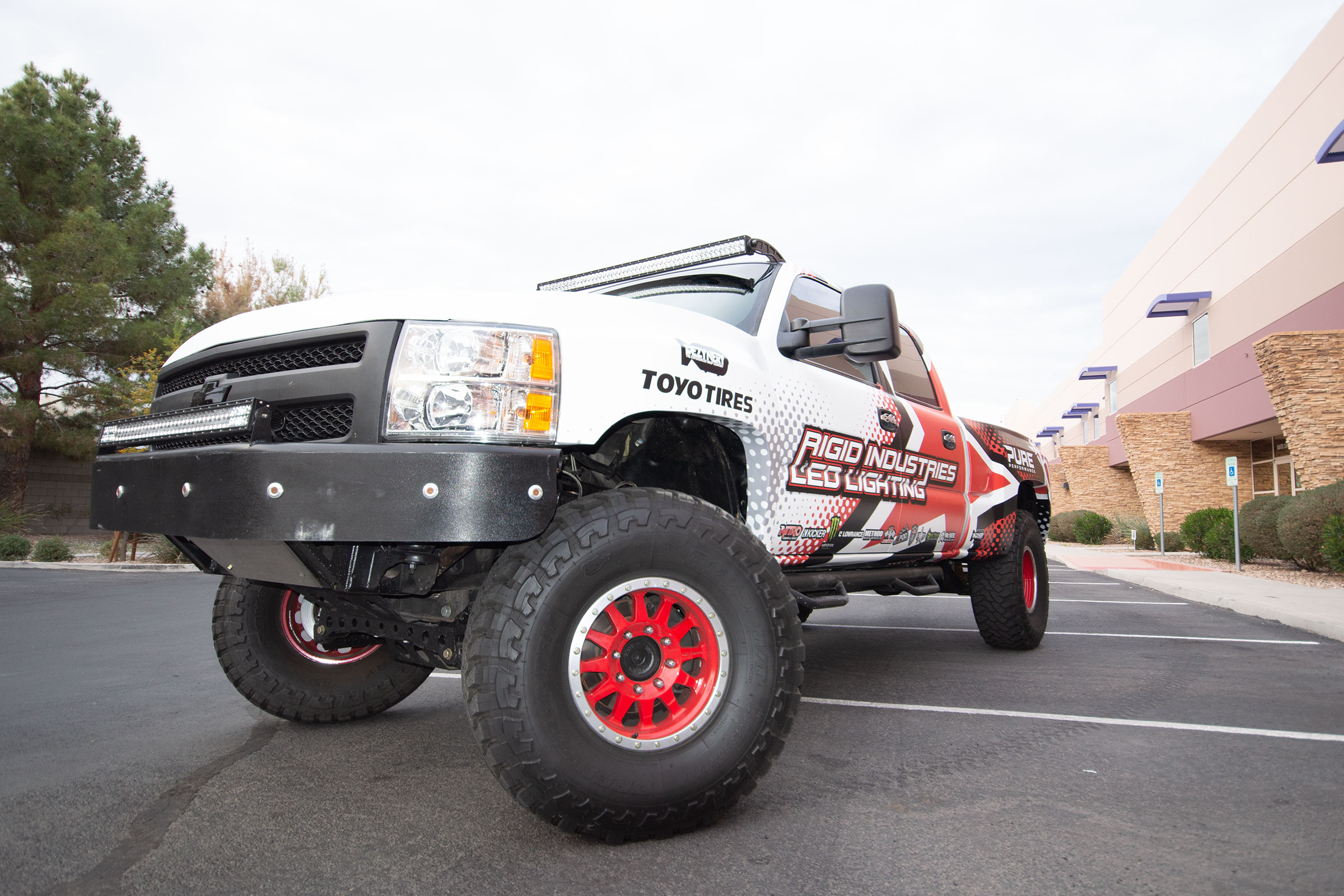 Vehicle wrap project for Rigid Industries