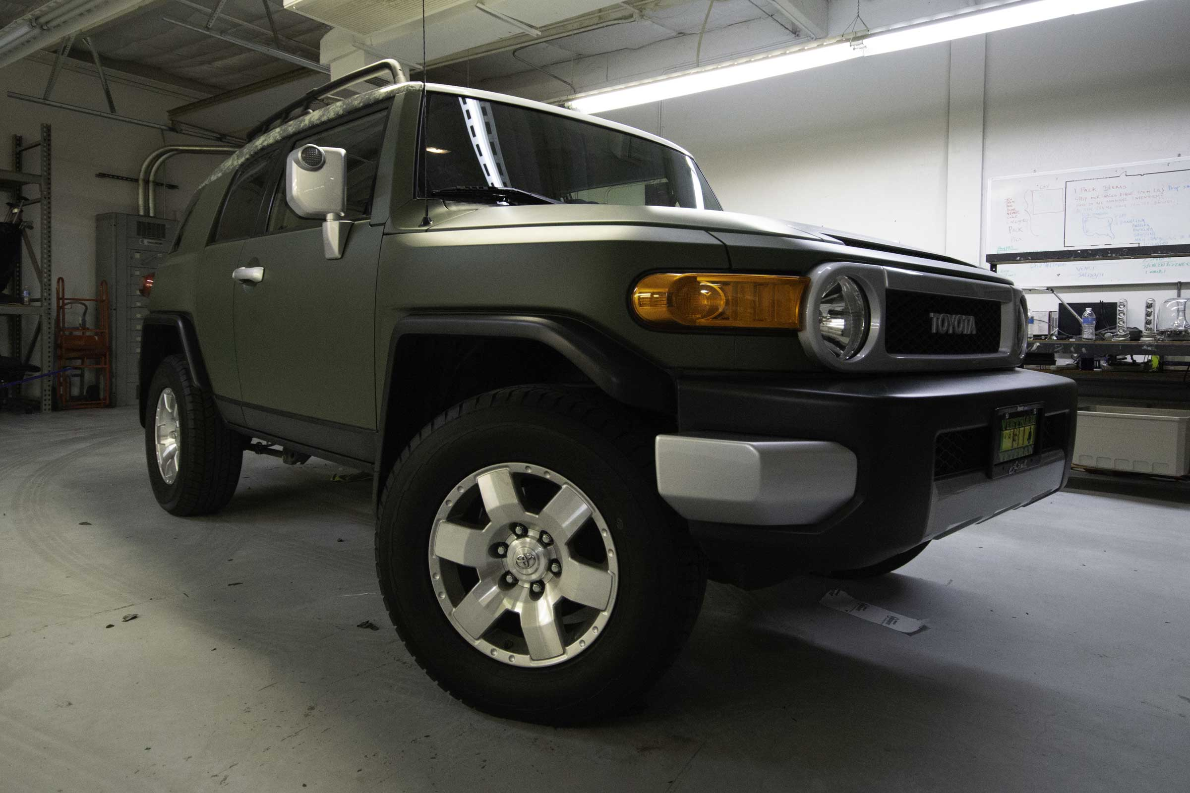 Complete color change on an FJ Cruiser