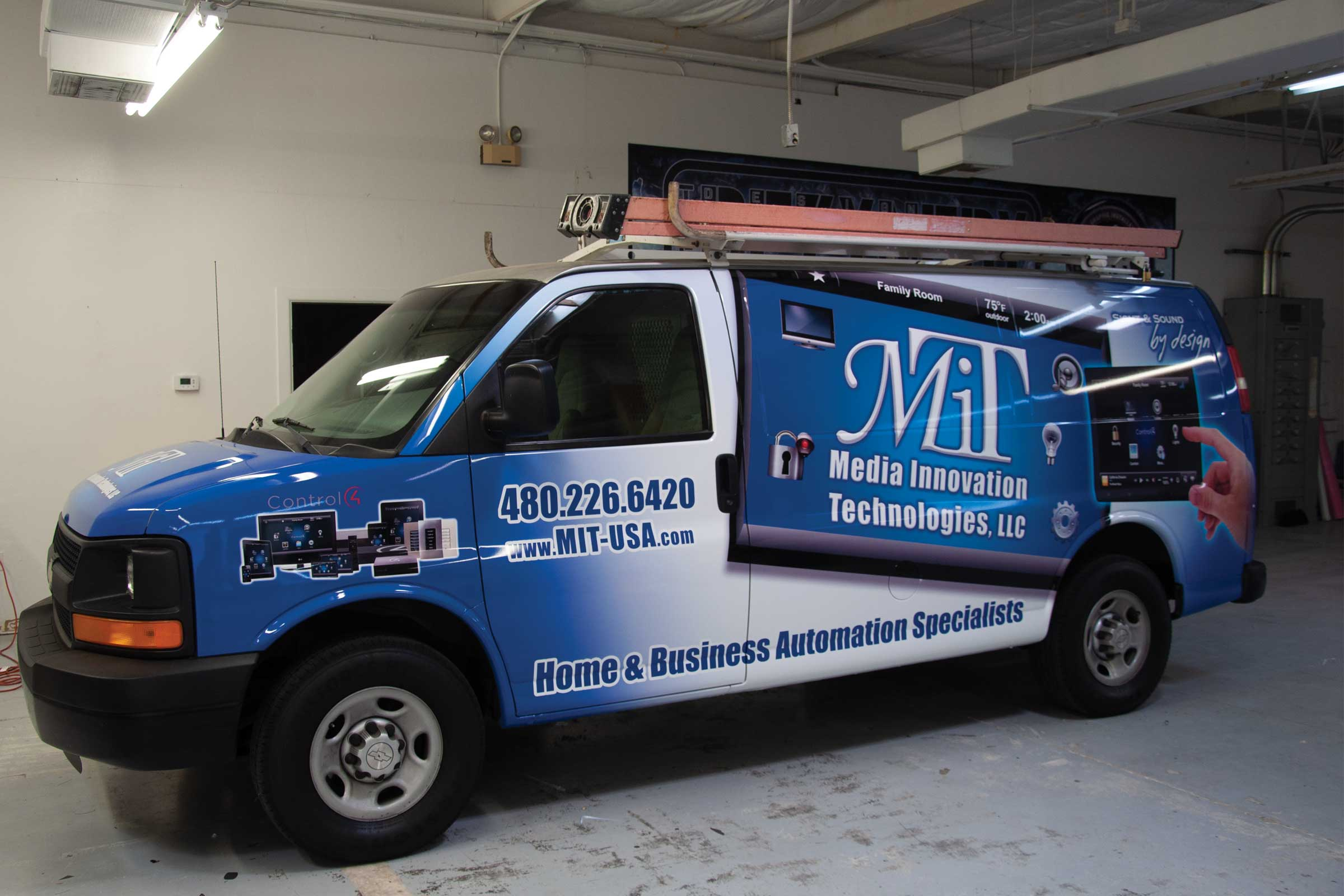 Full Vehicle Wrap for MIT.