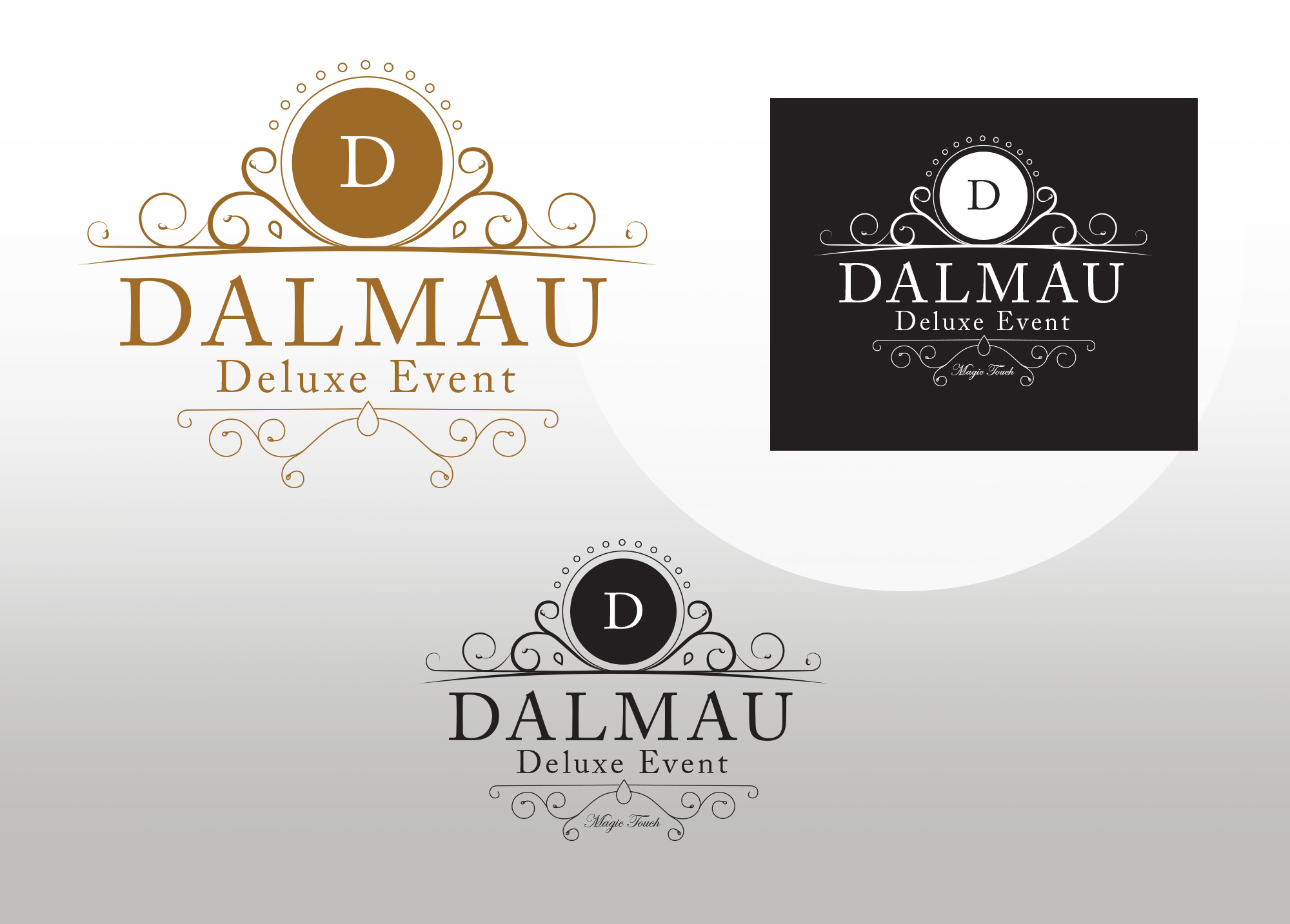 Dalmau Deluxe Event Company Logo