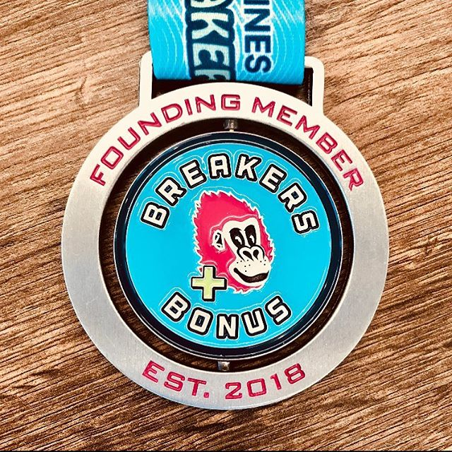 Bay to Breakers Founding Member Medal