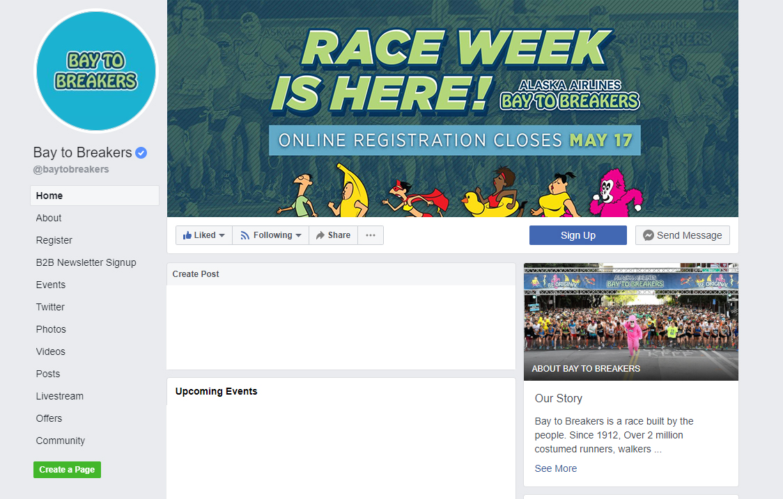 Facebook Header for Bay to Breakers
