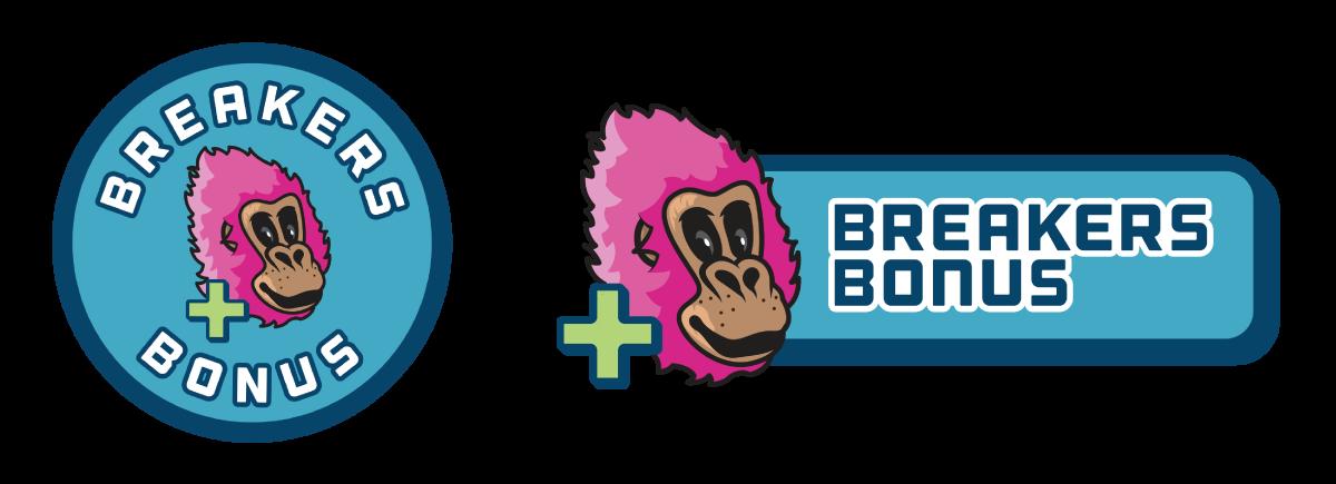 Breakers Bonus Logos
