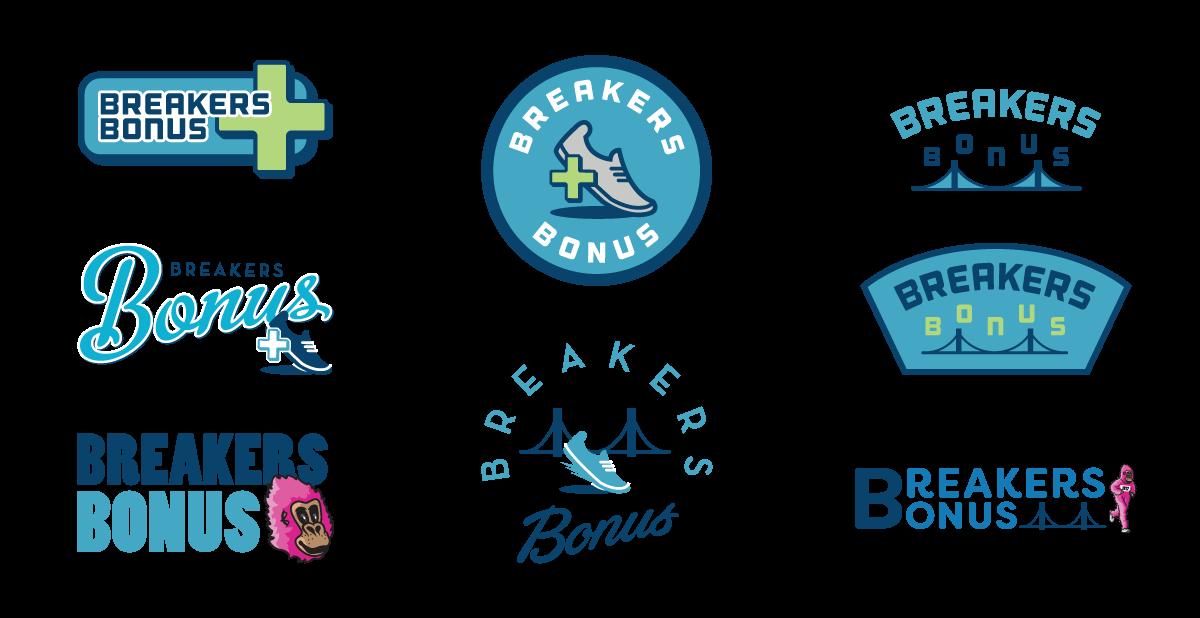 Breakers Bonus Alternative Logos
