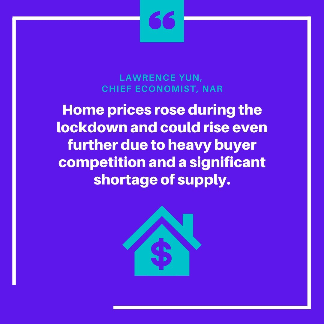 When supply is low and demand is high, items rise in value. That's exactly what's happening to home prices this summer. DM me to learn why b
