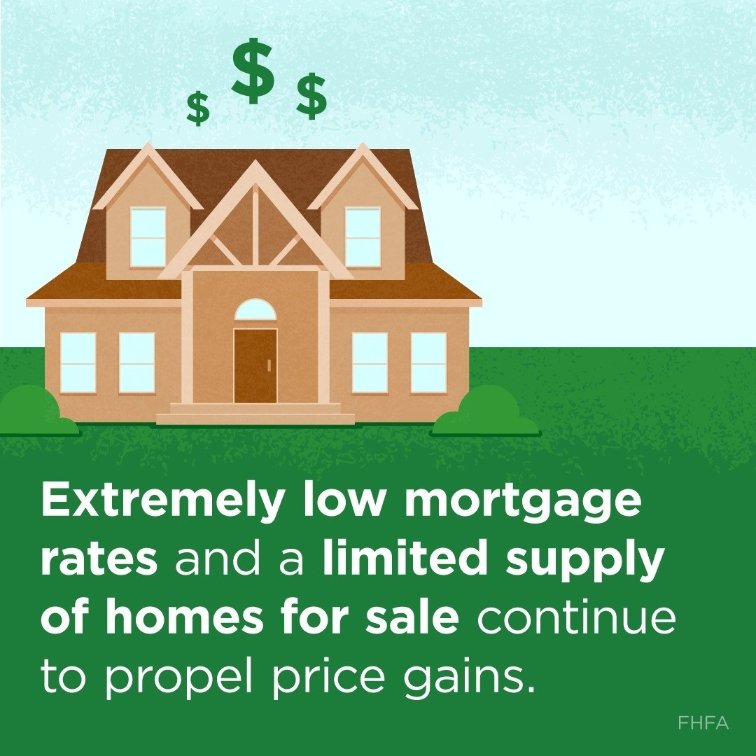 Two of the hottest topics in real estate right now are #mortgagerates and #housinginventory, both of which are sitting at record-lows as we