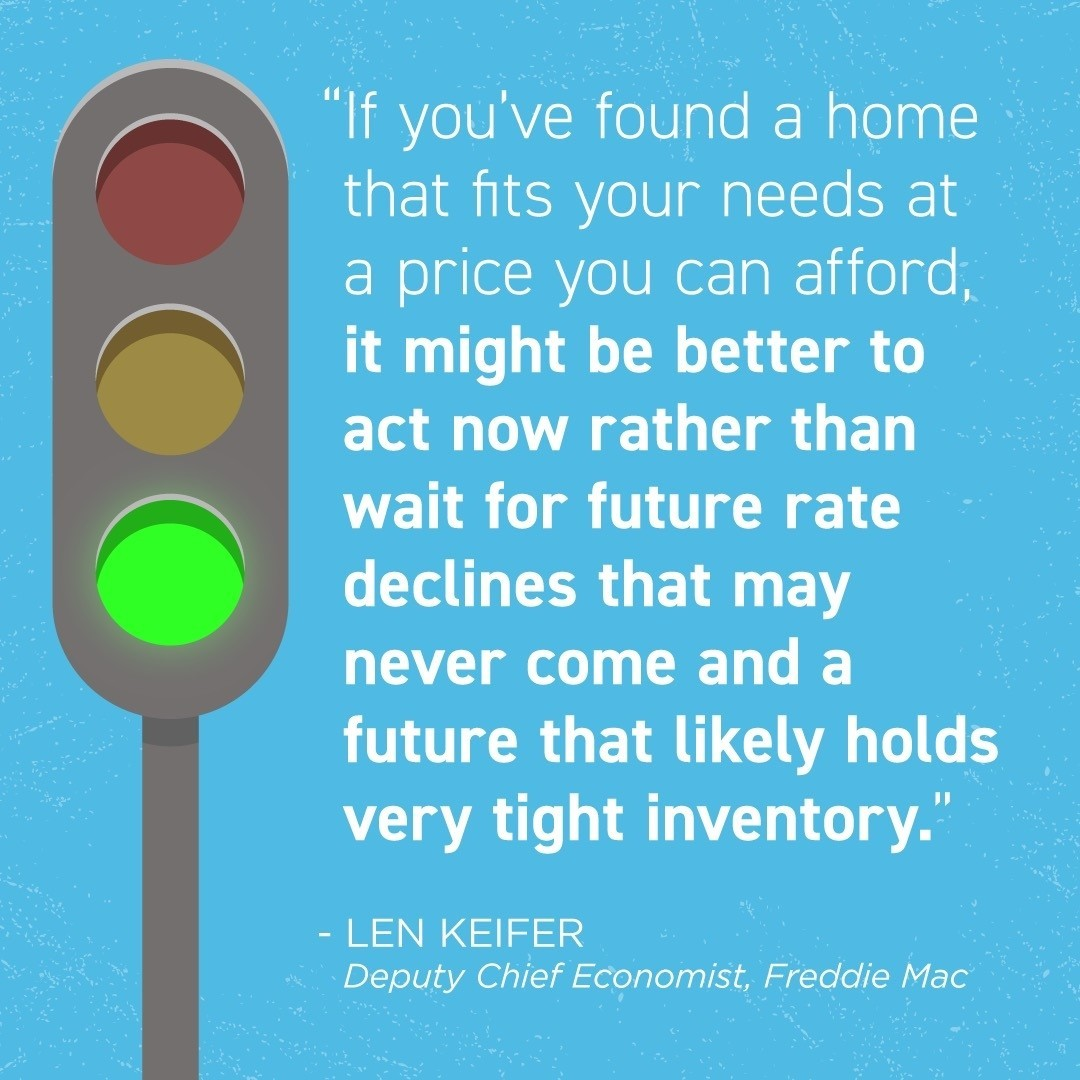 According to experts, now is the time to put the pedal to the metal if you're planning to buy a home. Easing onto the track could set you up