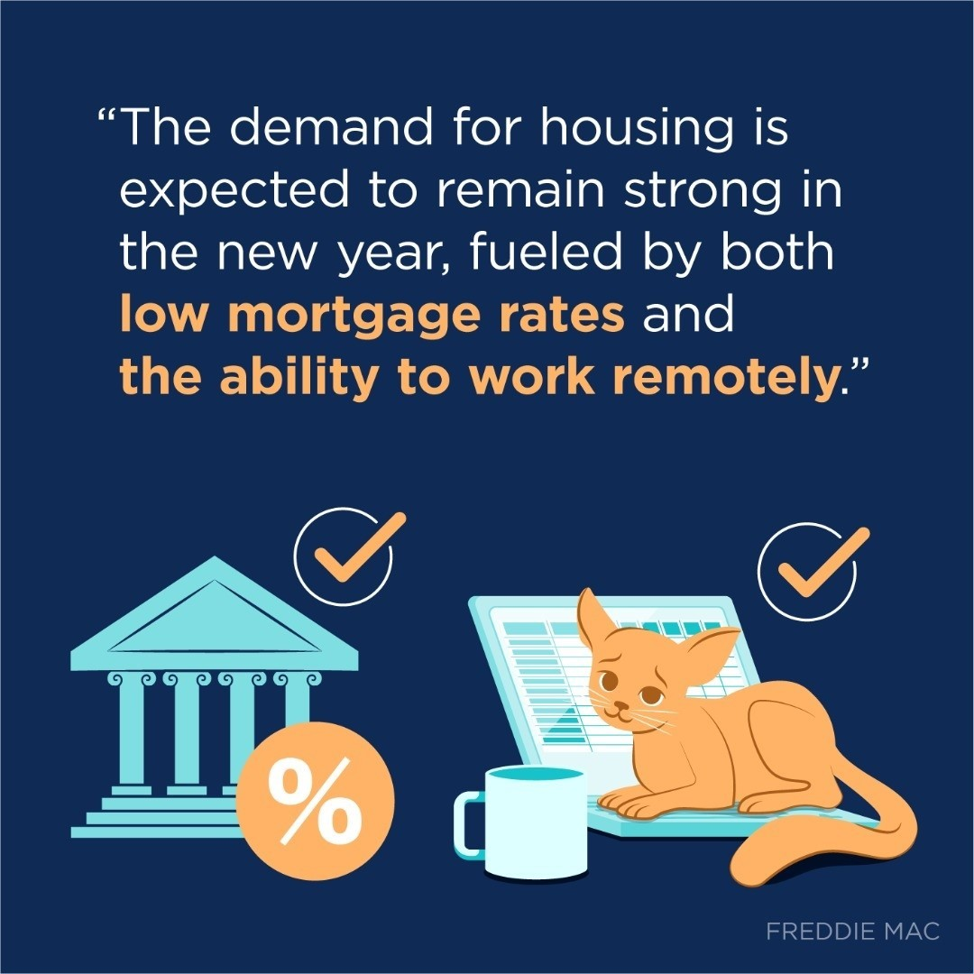 If you're in a position to buy a home this year, it's definitely a great time to do so. Record-low mortgage rates are driving affordability,