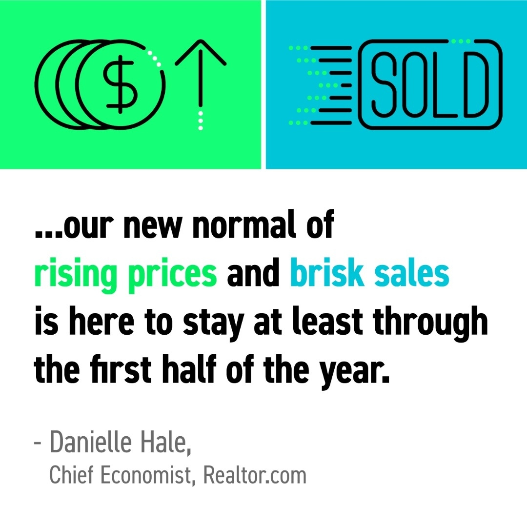 There's a lot happening in today's housing market, and if you're buying a home, the process is moving quickly. More than ever, having a real