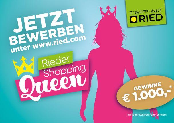 Ried hat eine Shopping-Queen