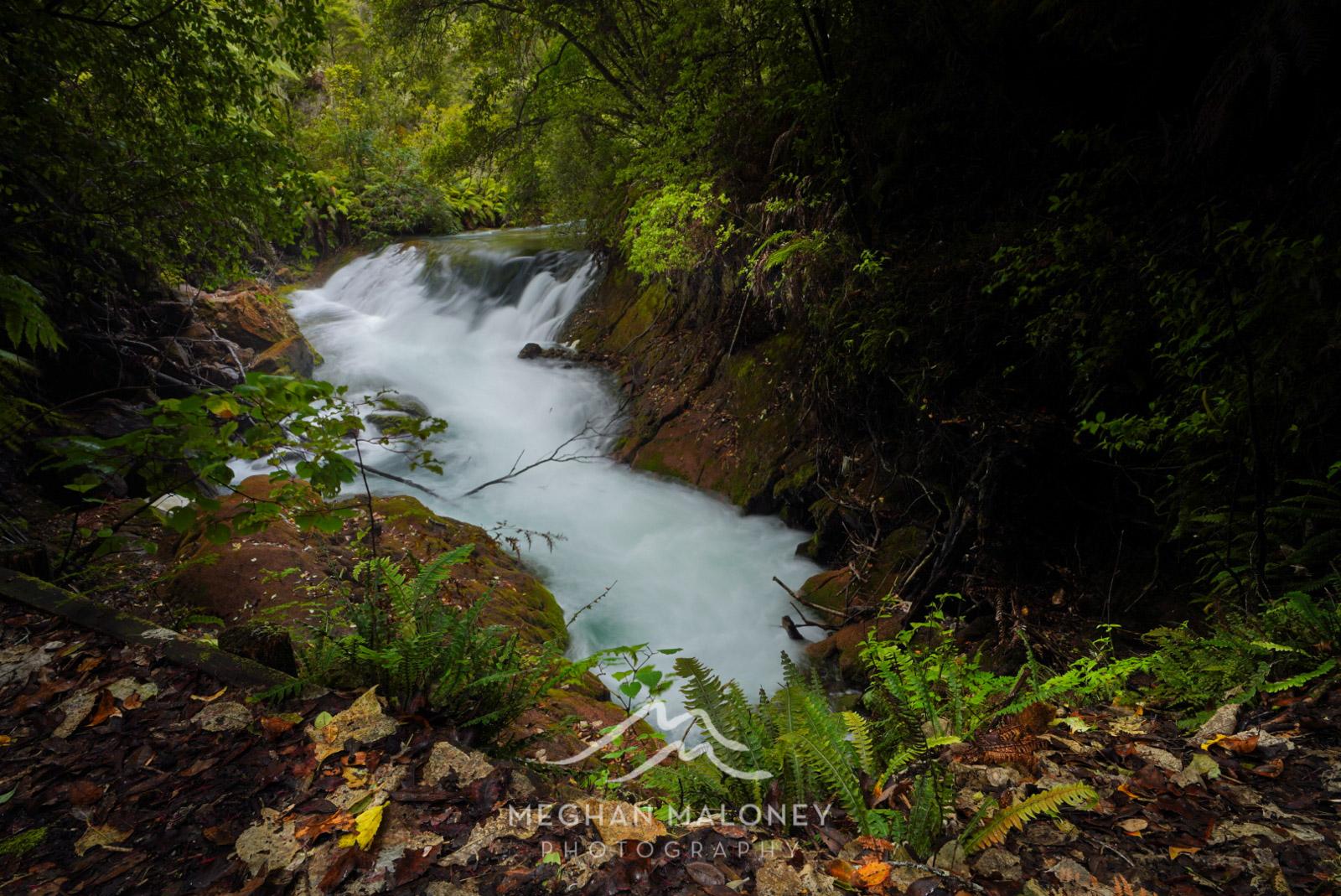 Tarawera Falls Underground River