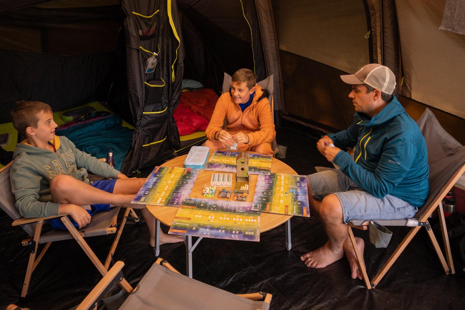 Zempire Camping Tent Interior