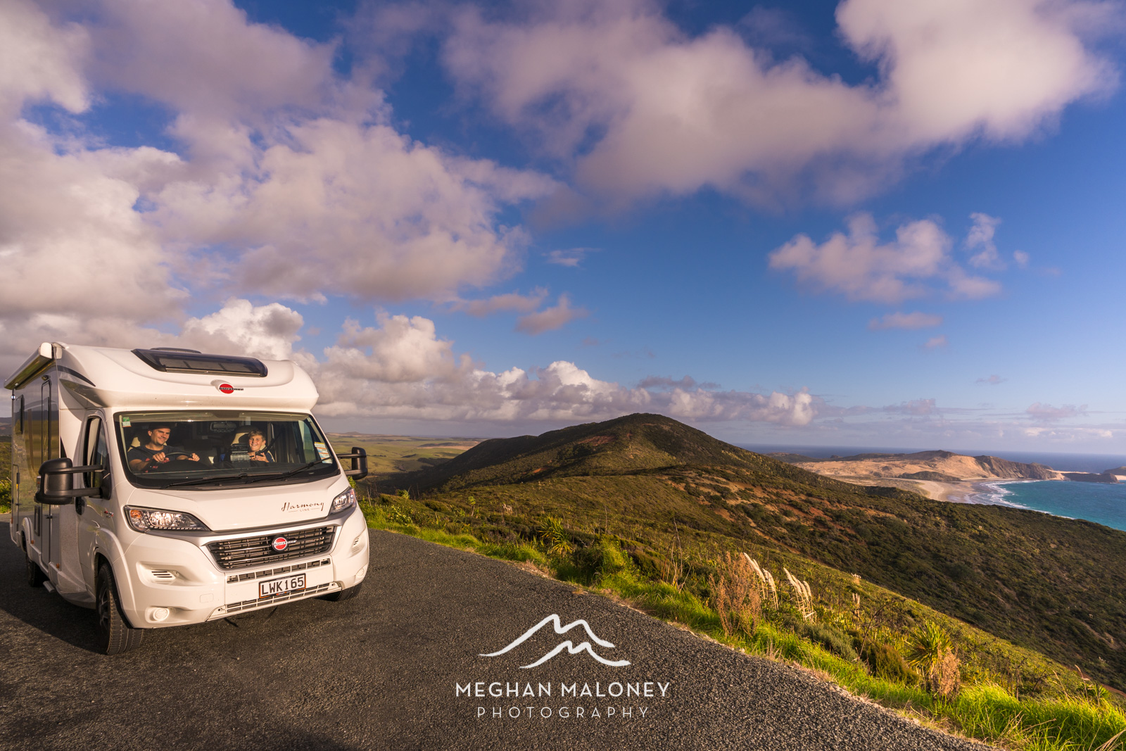 Cape Reinga Views Wilderness NZ camper
