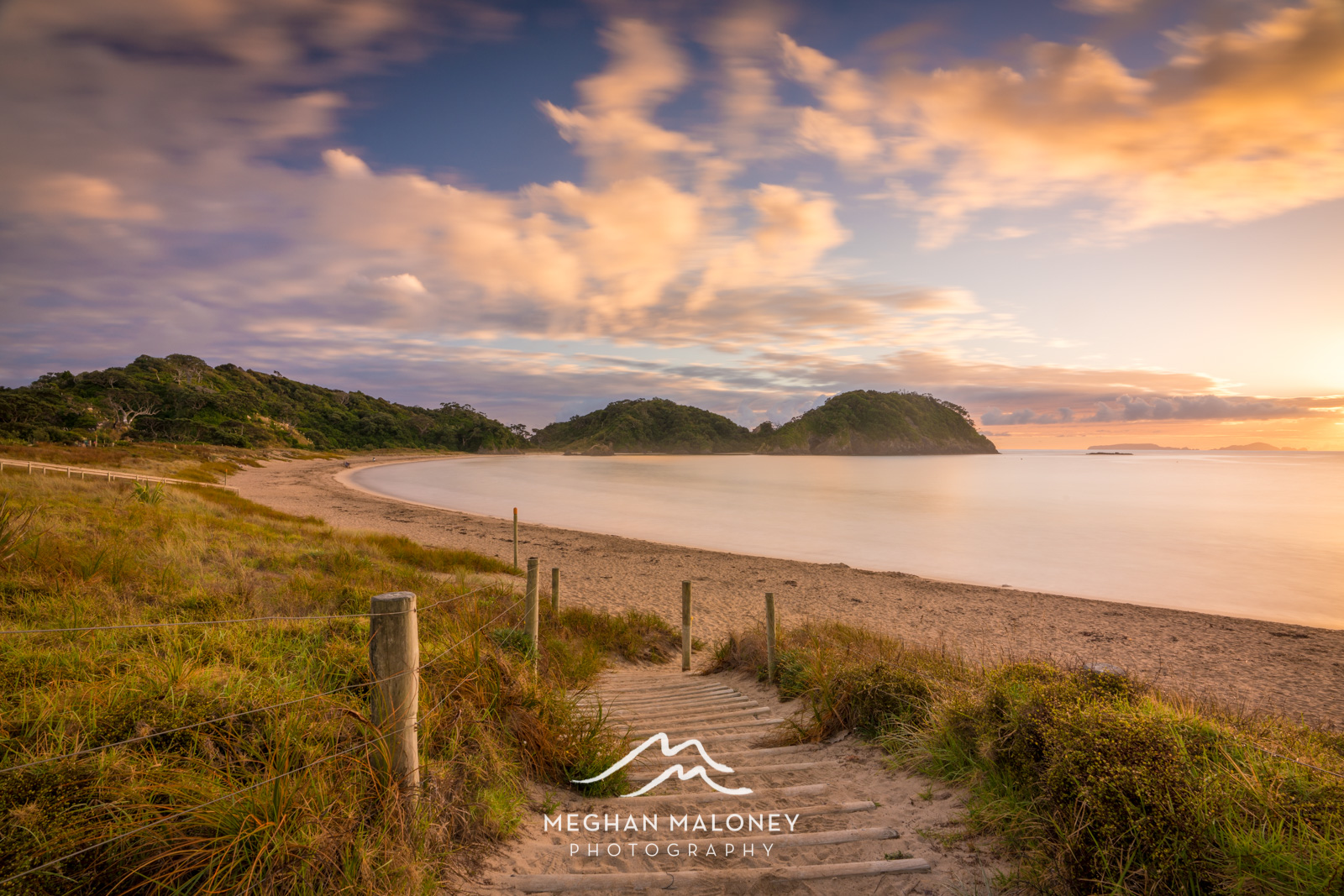 Matapouri Bay Golden Morning