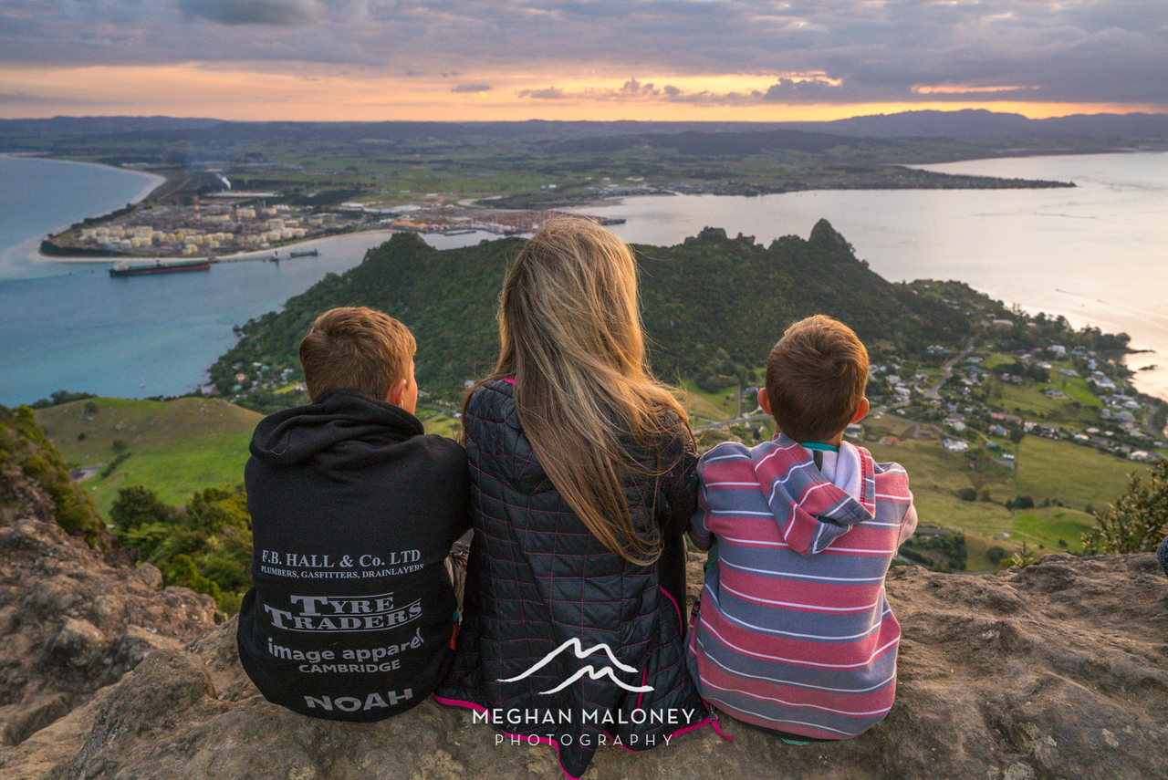 Mt Manaia Sunset Views