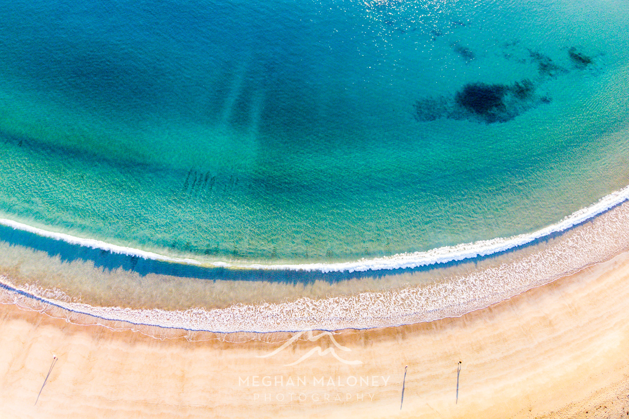 Matai Bay Amazing Water Aerial View