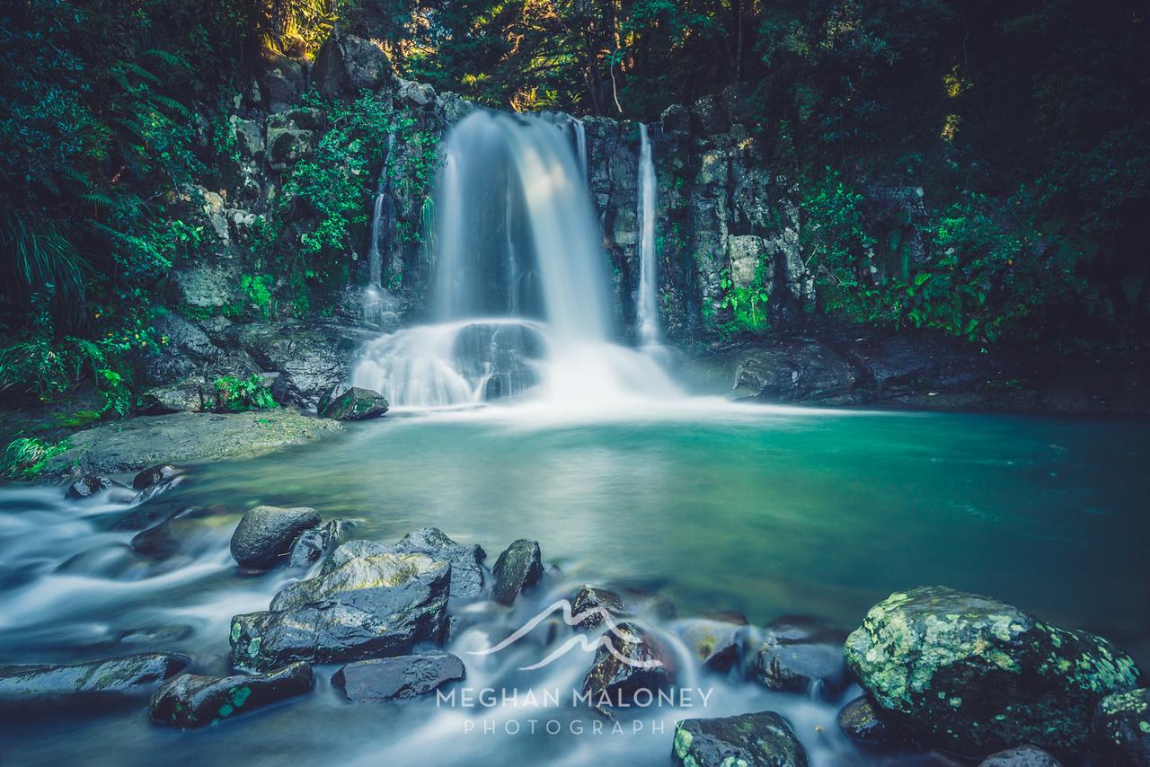 Waiau Falls grotto Coromandel