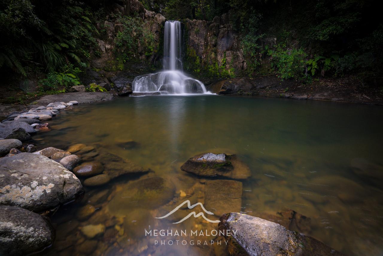 Waiau Falls Summer Flow