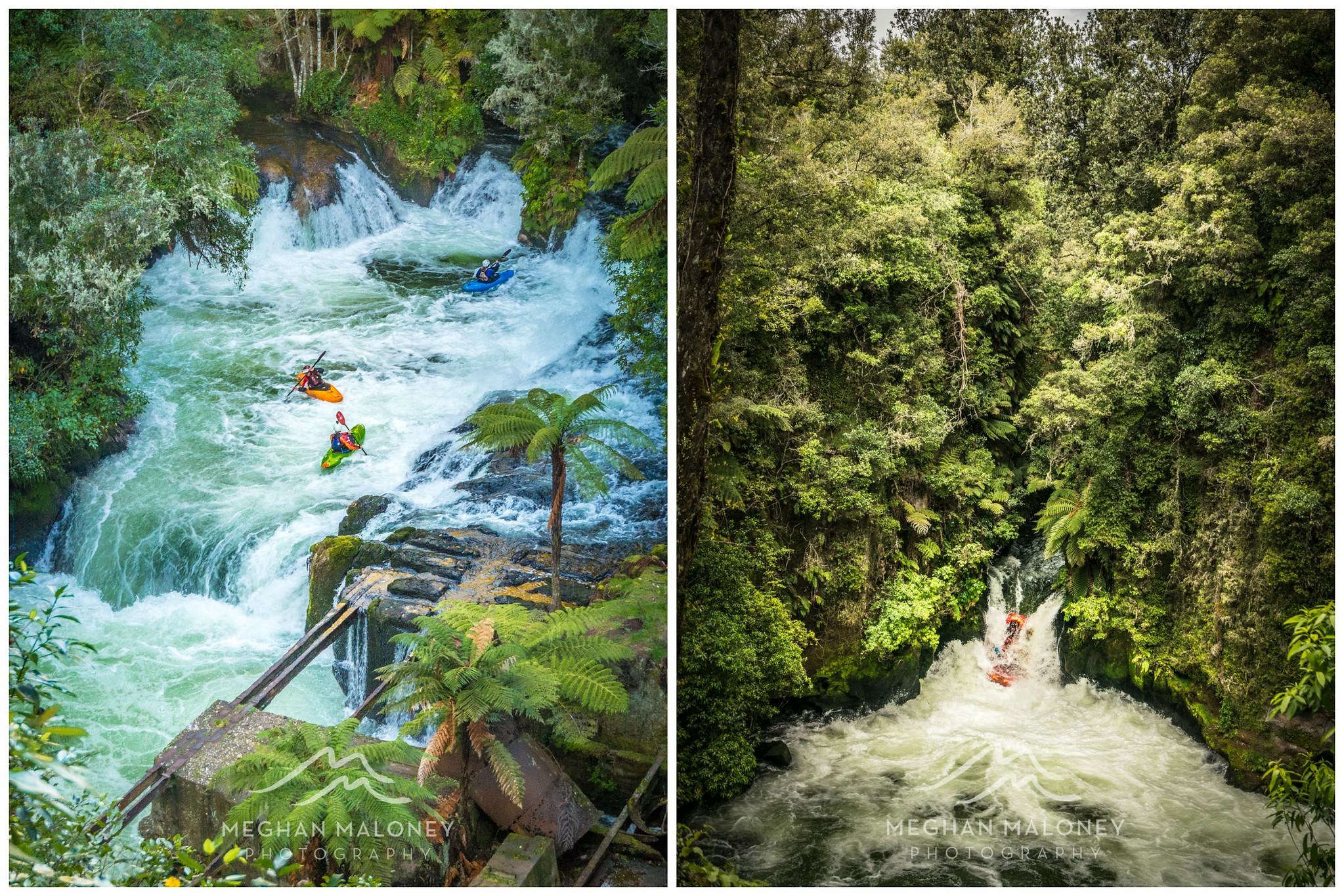 Okere Falls Rotorua Rafters