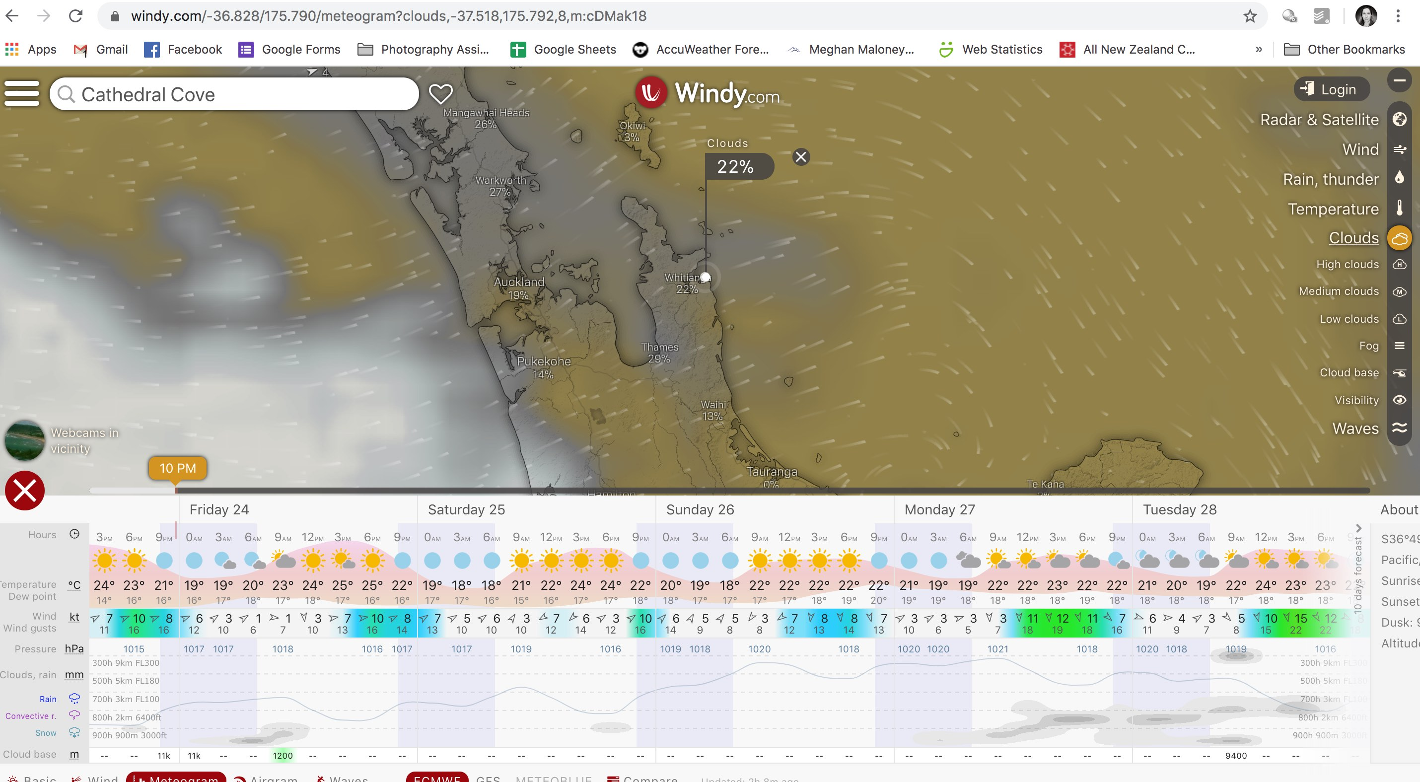 windy.com forecast