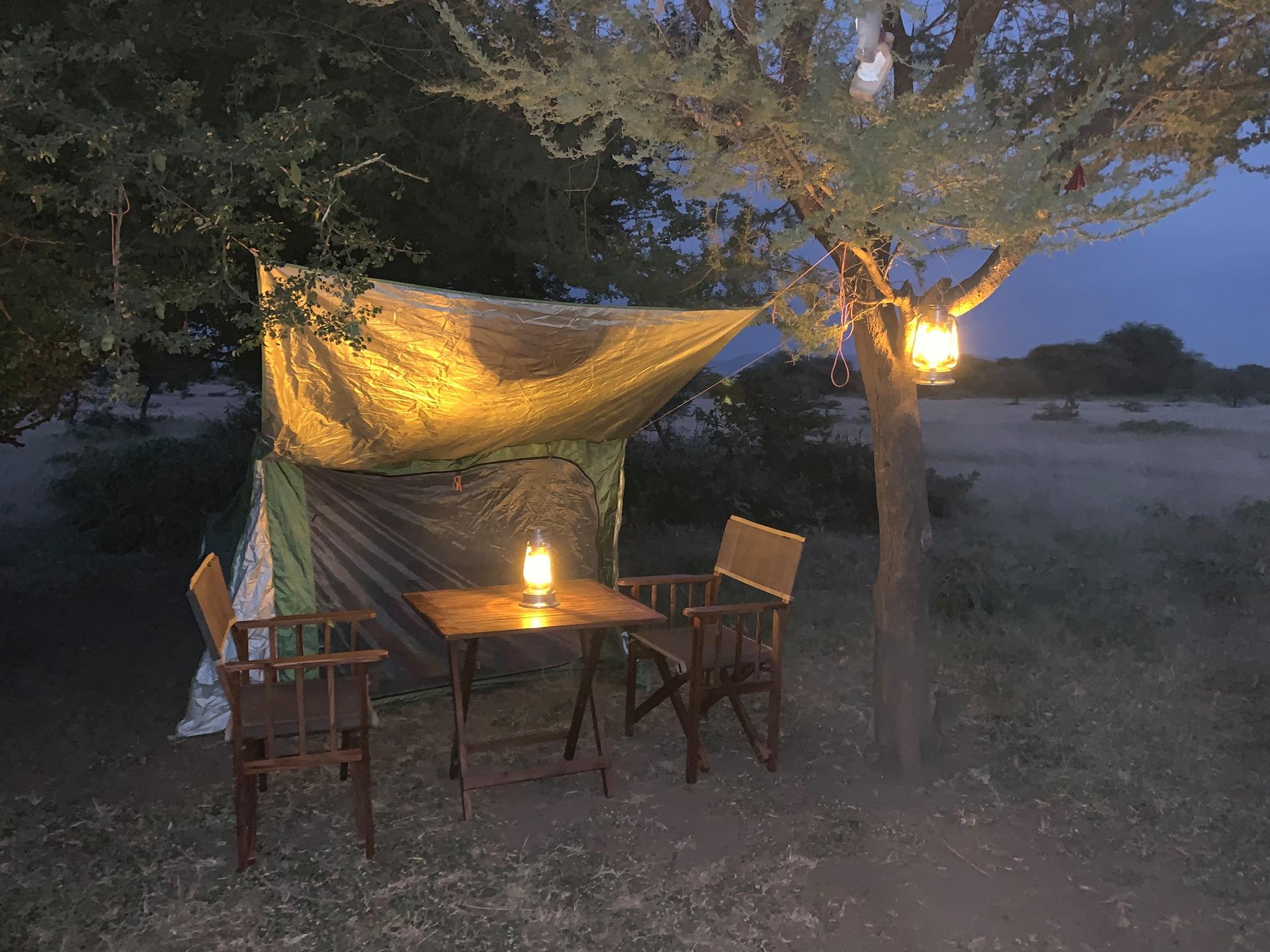Maasai Boma Tent