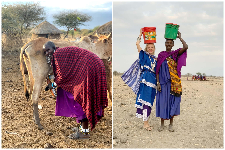 Visit Natives Maasai village life