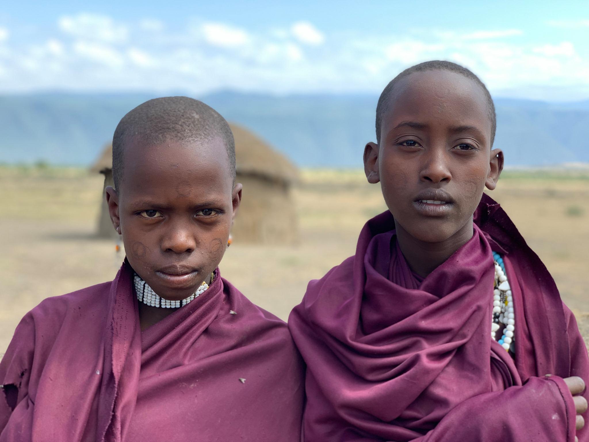 Maasai village life visit natives