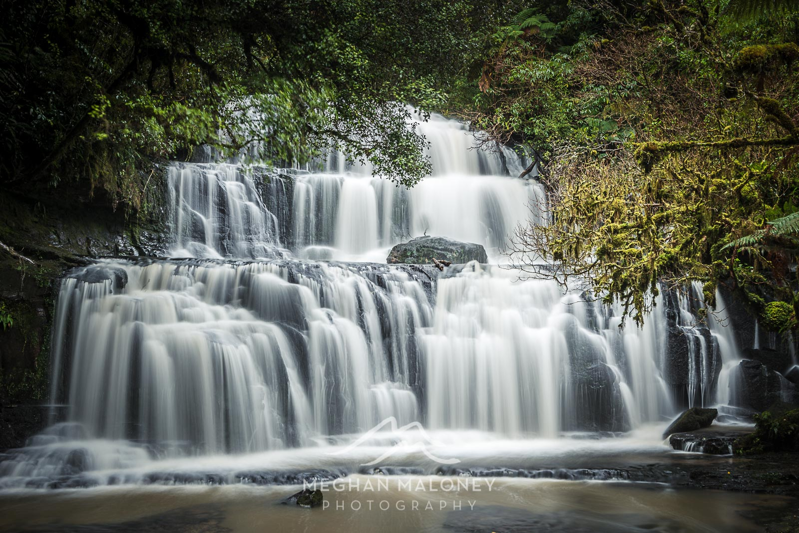 Purakaunui Falls Catlins Winter