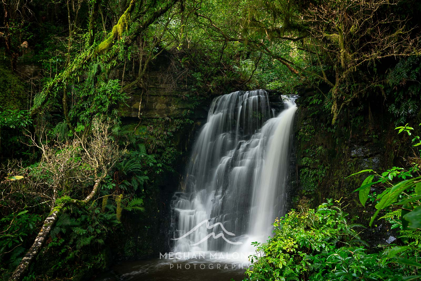 Horseshoe Falls Catlins NZ