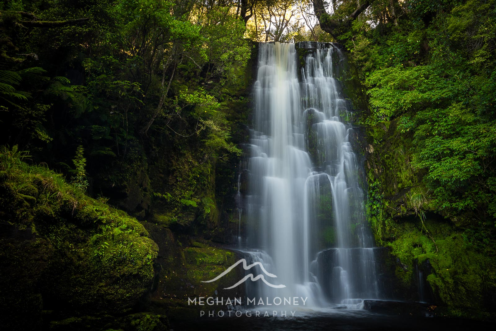 McLean Falls Top Waterfall NZ