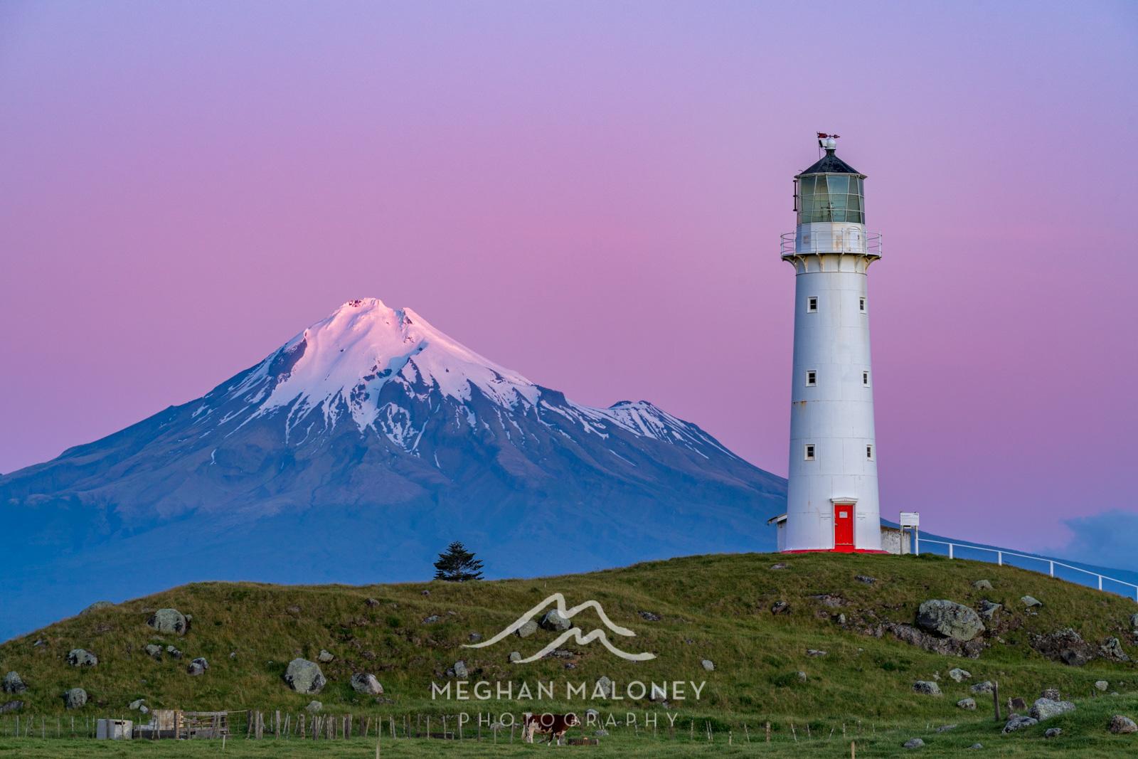 Cape Egmont Lighthouse Sunset
