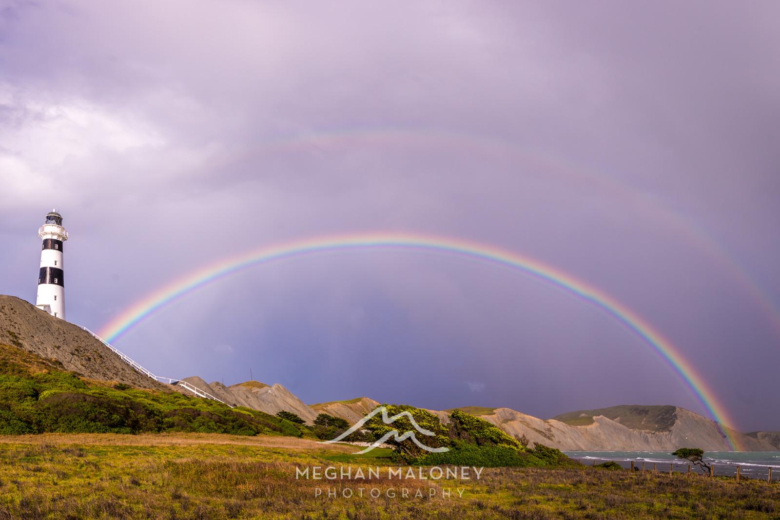 Cape Campbell Lighthouse Rainbow