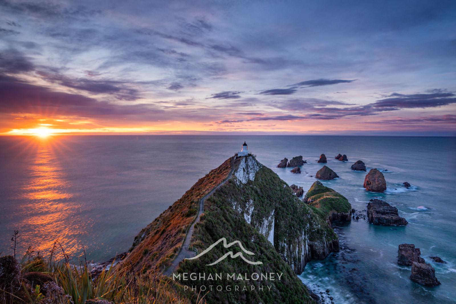 Nugget Point Lighthouse Sunrise