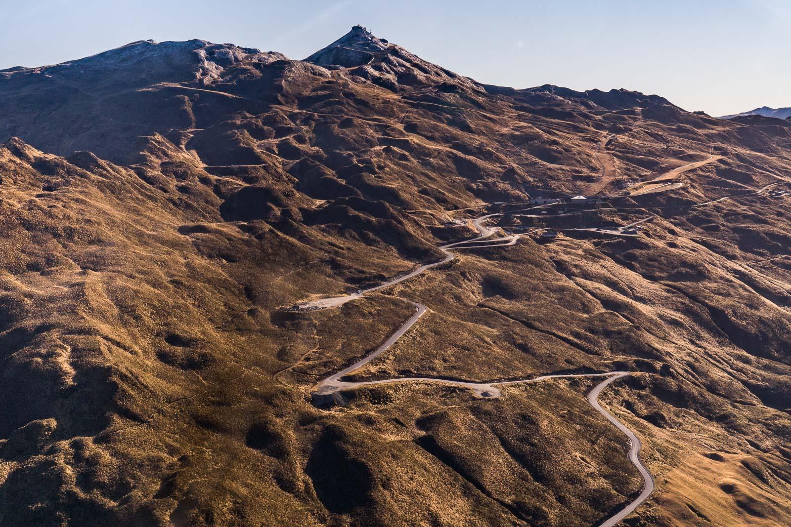 Coronet Peak Aerial View