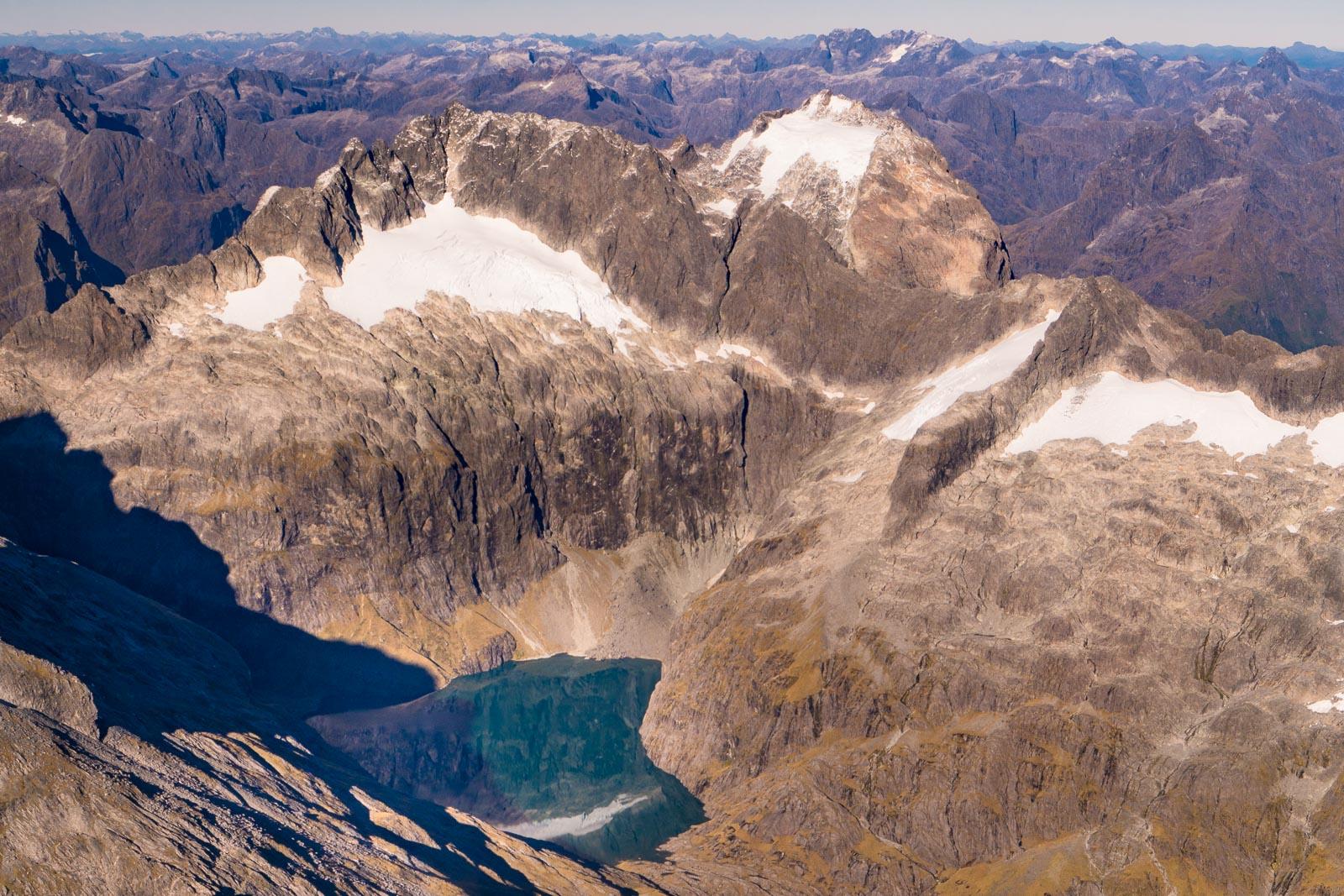 Fiordland Mountains Hanging Lake