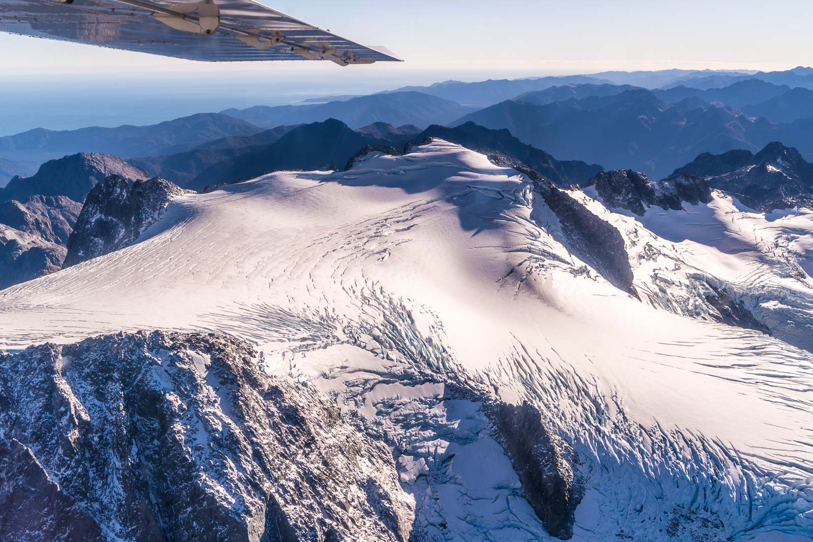Mt Tutoko Glacier Fiordland