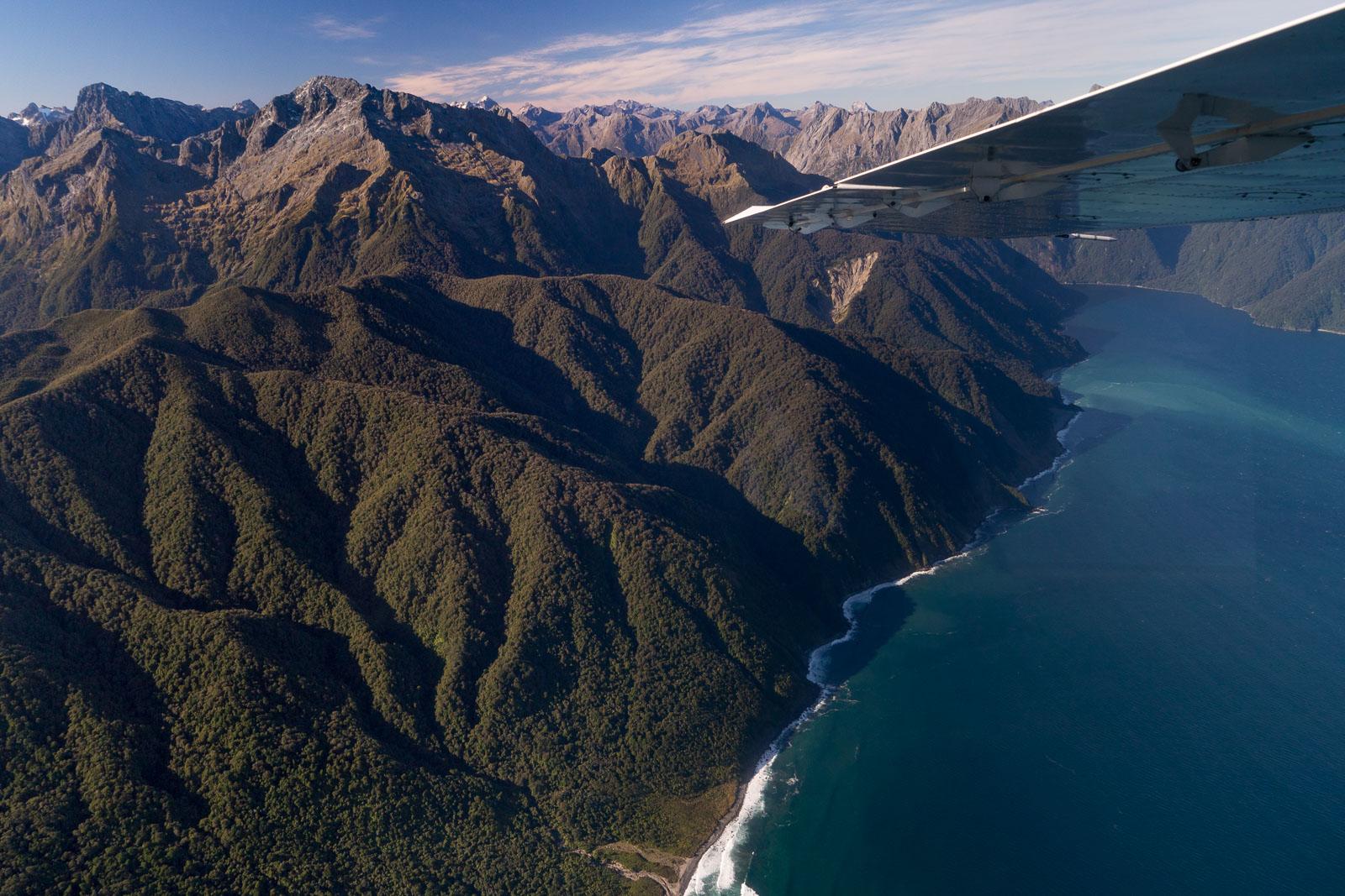 Milford Sound Flight Coast View