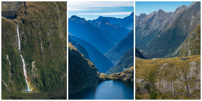 Sutherland Falls Lake Quill Mackinnon Pass
