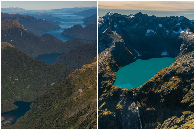 Lake Te Anau & Lake Erskine