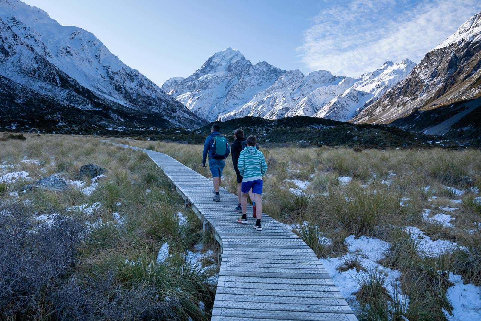 Mount Cook Hooker Valley Track Family Hike