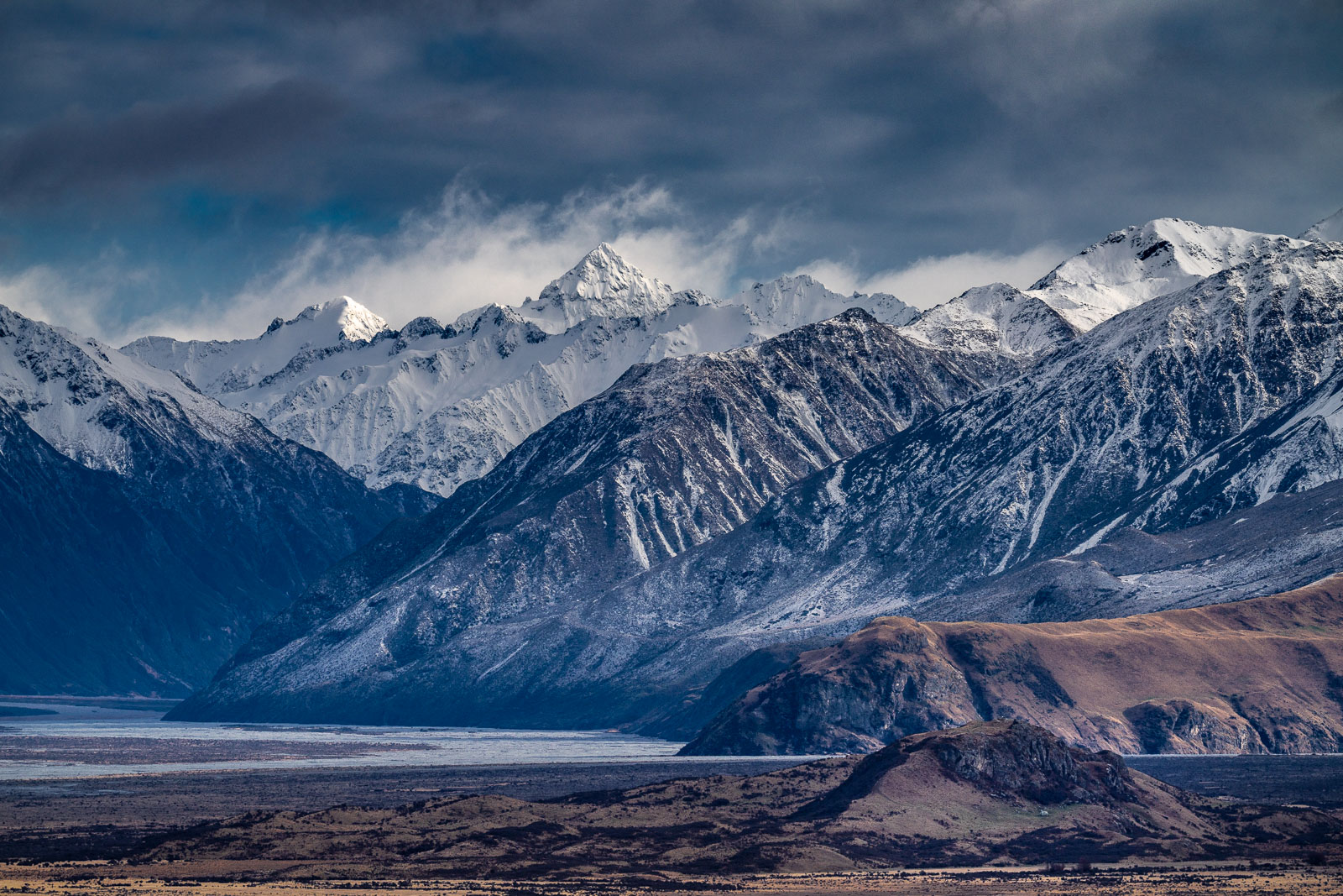 Mount Sunday Southern Alps Rangitata River
