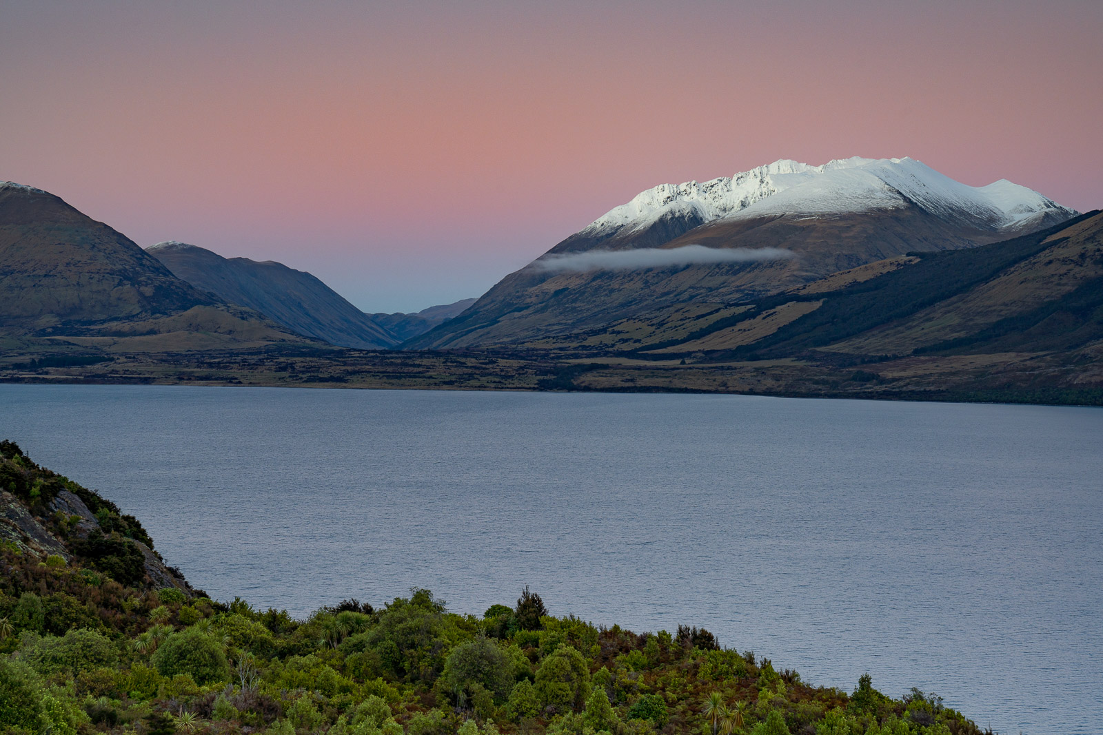 Bennetts Bluff Lake Wakatipu Sunrise