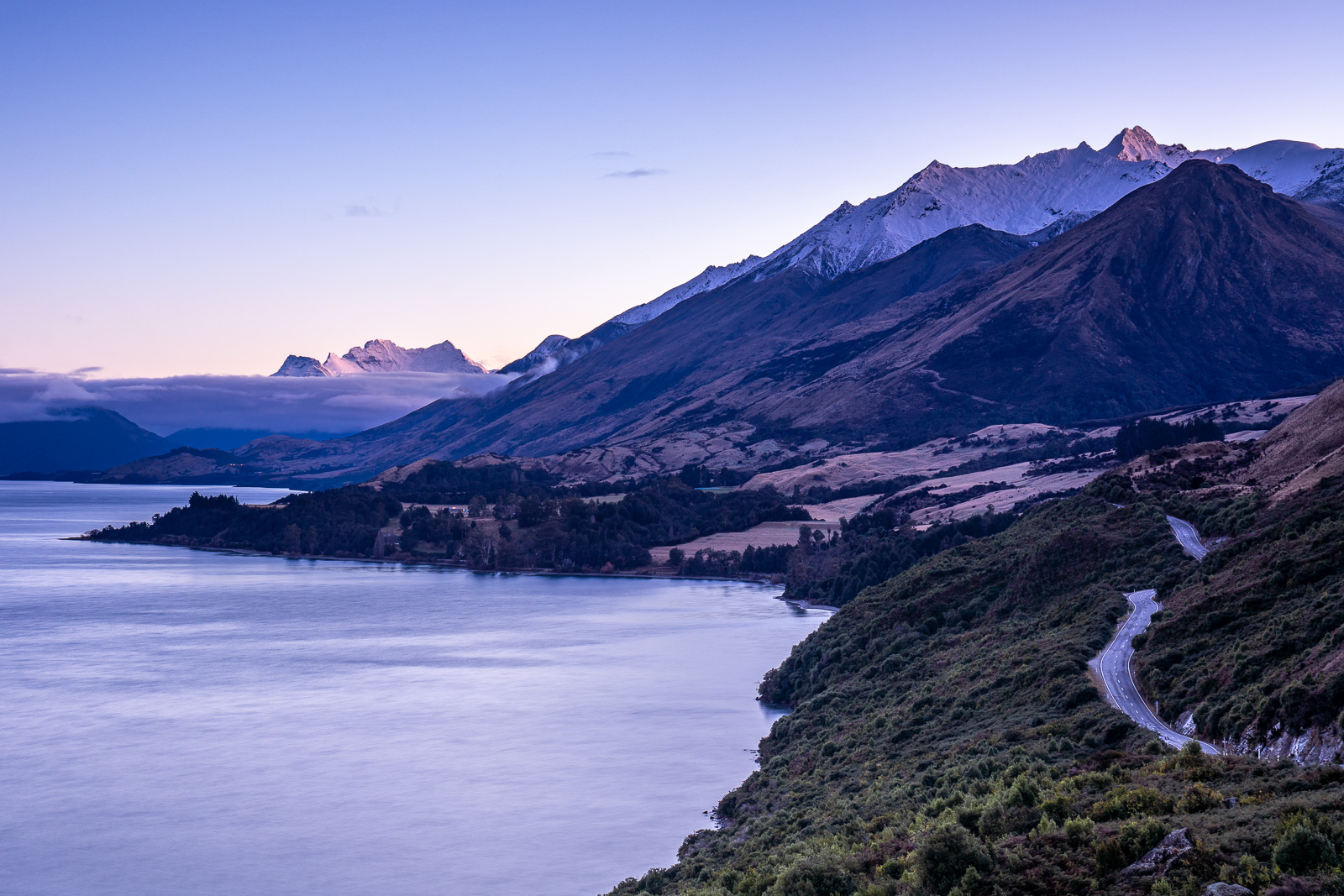 Bennetts Bluff Queenstown Glenorchy Sunrise