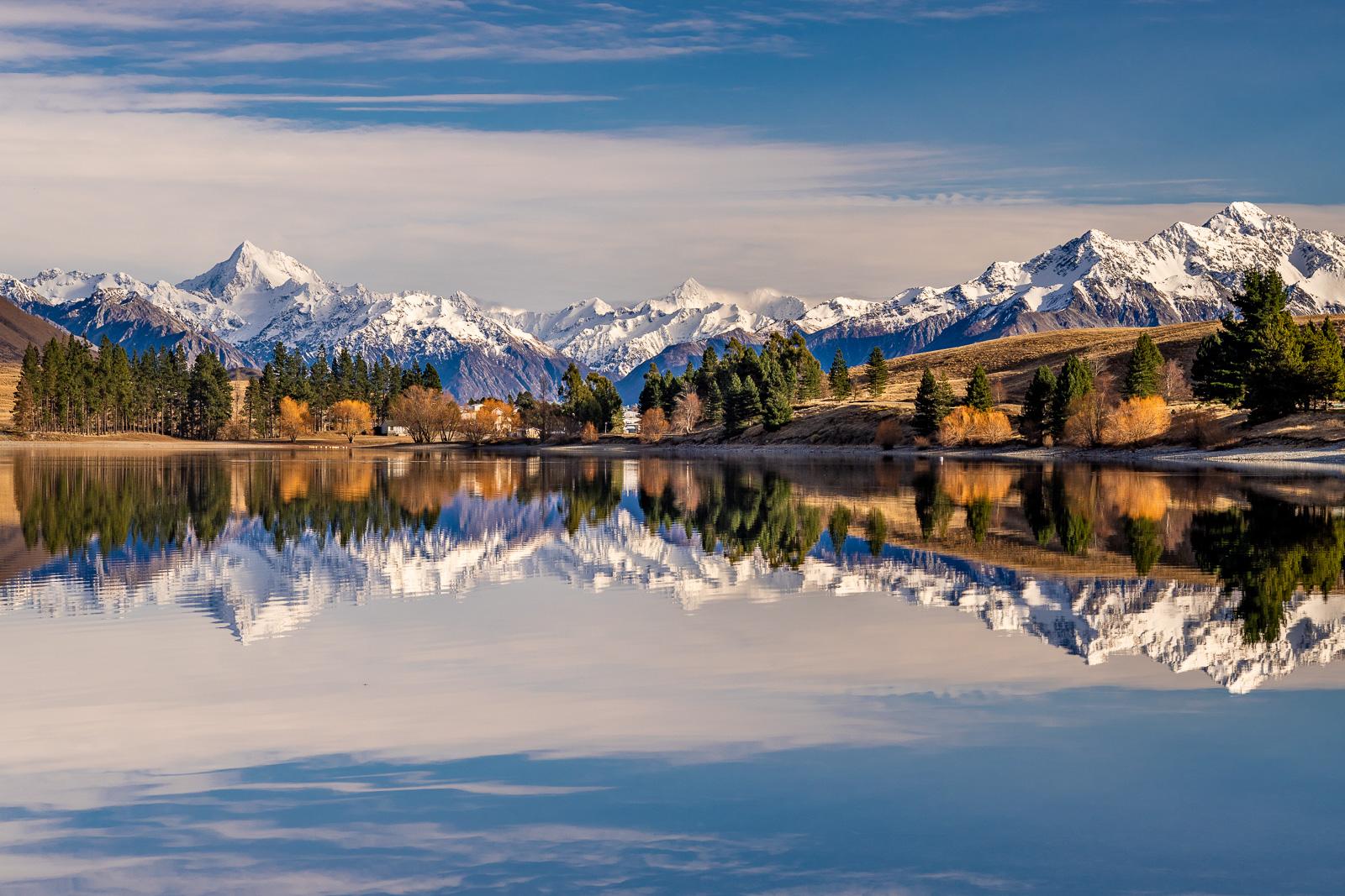 Lake Camp Ashburton Lakes 70mm